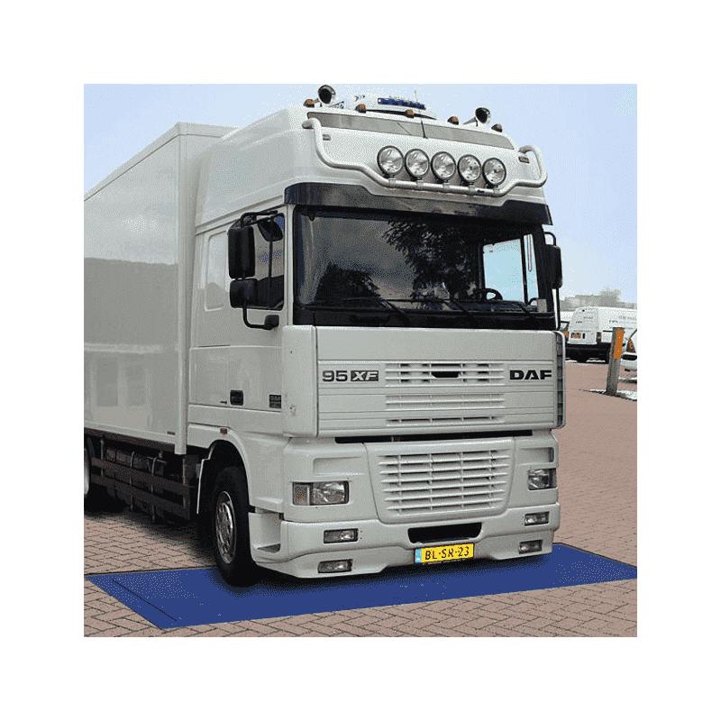 Inbouw Asweegsysteem DW – Dynamisch Wegen Van Voertuigen – 20 Ton Per As – Plateau 3000x800mm